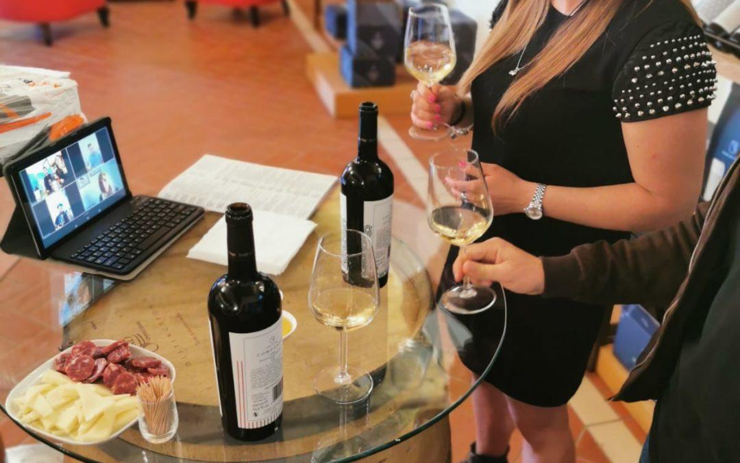 """""""Virtual Wine Tasting""""con l'azienda vinicola """"Eredi dei Papi"""""""